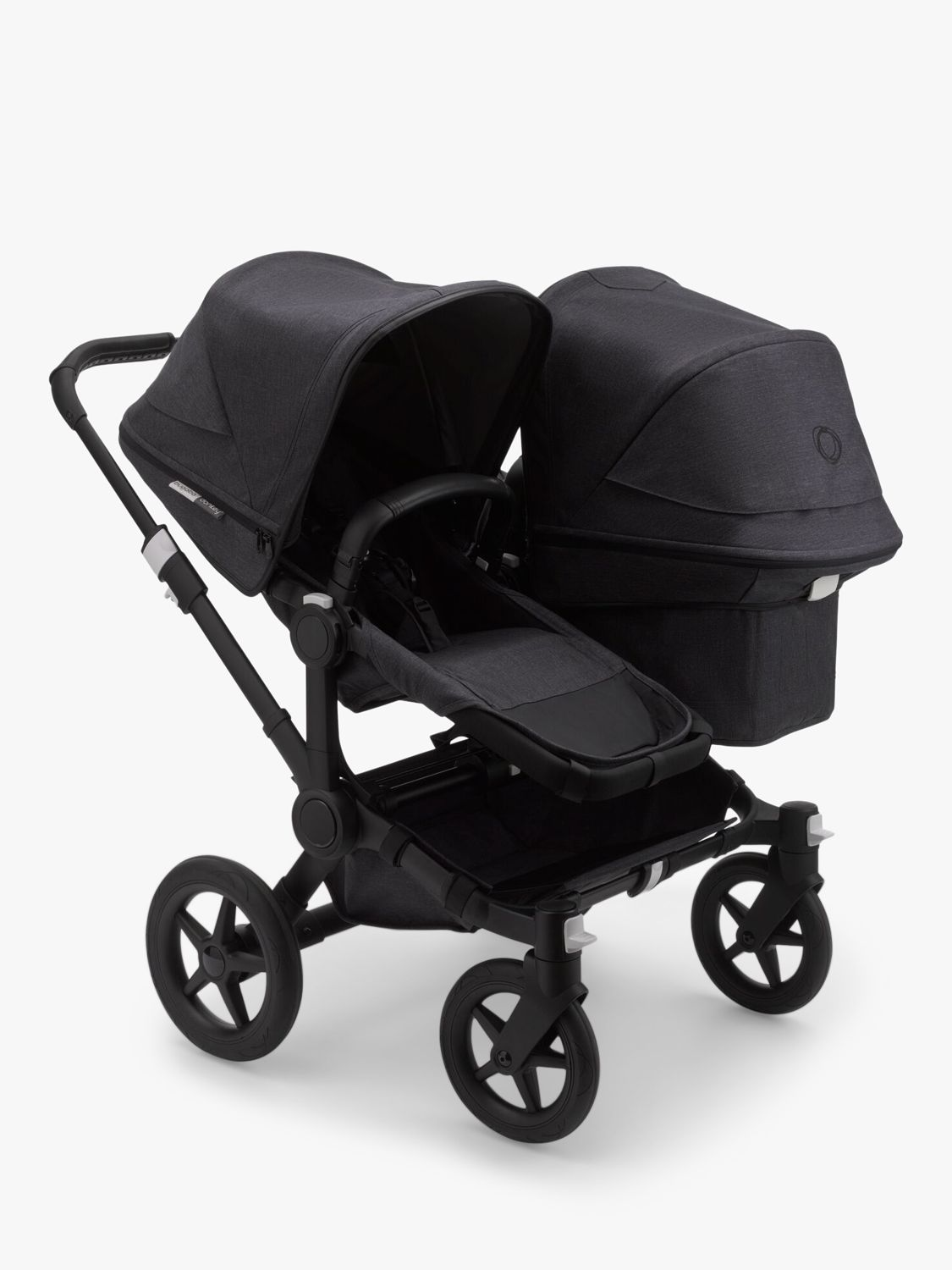 Bugaboo Donkey 3 Mineral Duo Pushchair and Carrycot, Washed Black