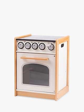 Bigjigs Toys Wooden Educational Cooker