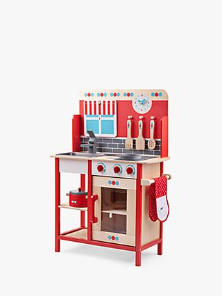 Bigjigs Toys Wooden Play Kitchen