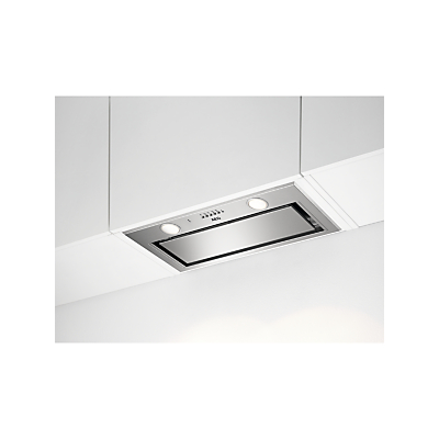 AEG DGE5661HM 54cm Canopy Cooker Hood, A Energy Rating, Stainless Steel