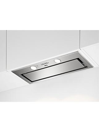 AEG DGE5861HM 80cm Canopy Cooker Hood, A Energy Rating, Stainless Steel