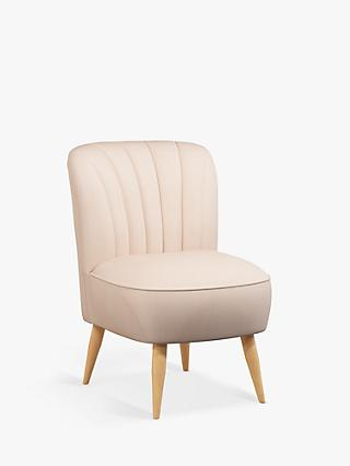 Fluted Range, John Lewis & Partners Fluted Armchair, Light Leg