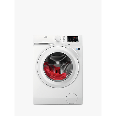 AEG 6000 L6FBJ141P Freestanding Washing Machine, 10kg Load, 1400rpm Spin, White