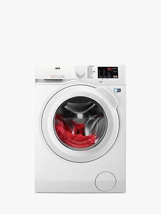 AEG 6000 L6FBJ141P Freestanding Washing Machine, 10kg Load, 1400rpm Spin, White