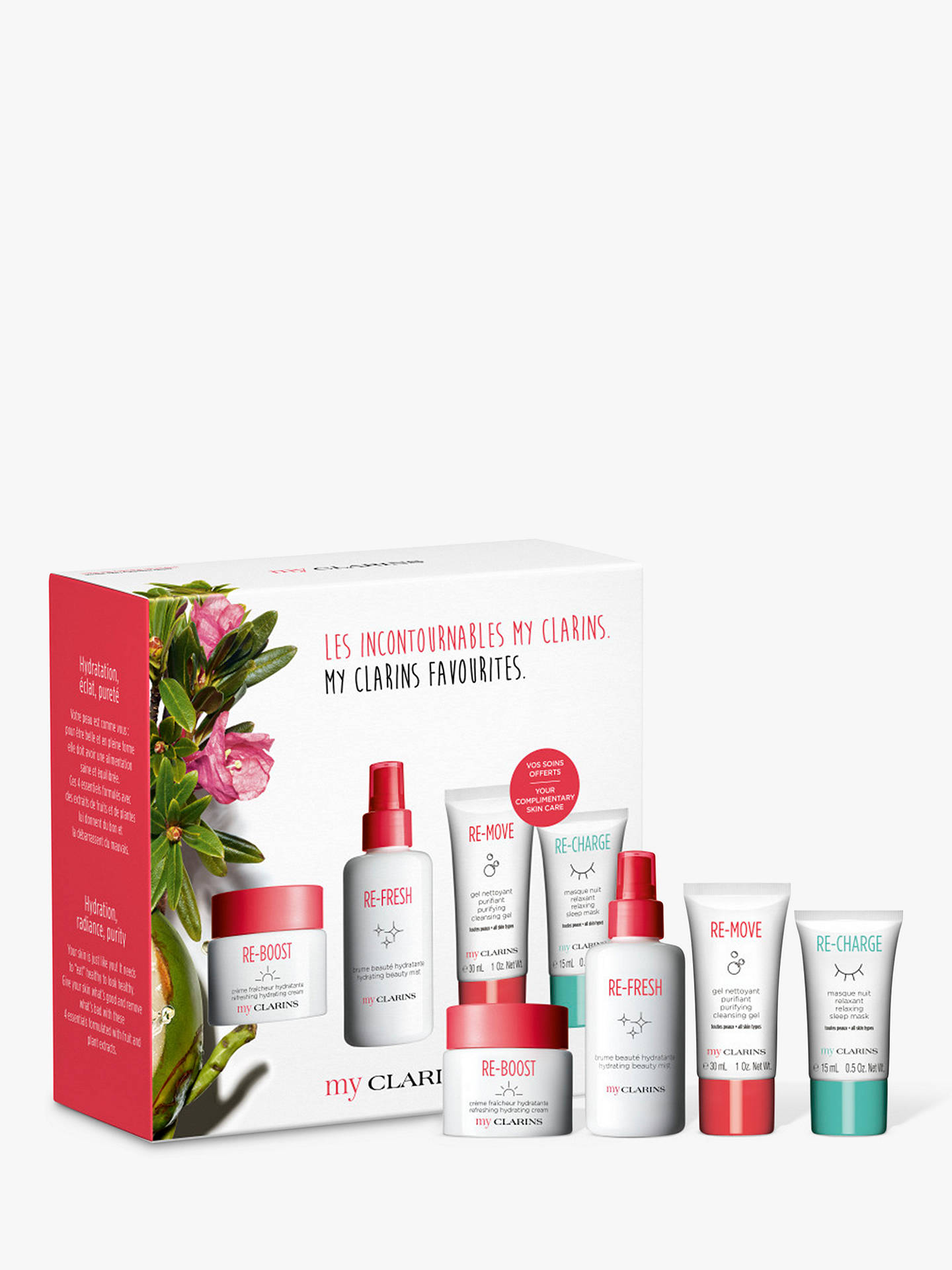Buy Clarins My Clarins Collection Skincare Gift Set Online at johnlewis.com