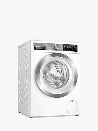 Bosch Serie 8 WAX32EH1GB Freestanding Washing Machine, 10kg Load, A+++ Energy Rating, 1600rpm Spin, White