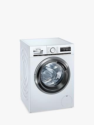 Siemens iQ500 WM16XMH9GB Freestanding Washing Machine, 9kg Load, 1600rpm Spin, White