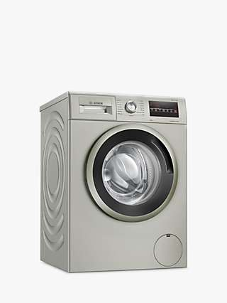 Bosch WAN282X1GB Freestanding Washing Machine, 8kg Load, A+++ Energy Rating, 1400rpm Spin, Silver