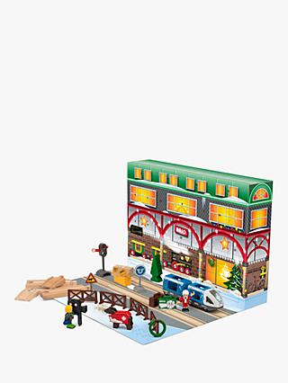 BRIO Wooden Train Advent Calendar