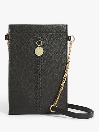 See By Chloé Tilda Leather Phone Cross Body Bag, Black