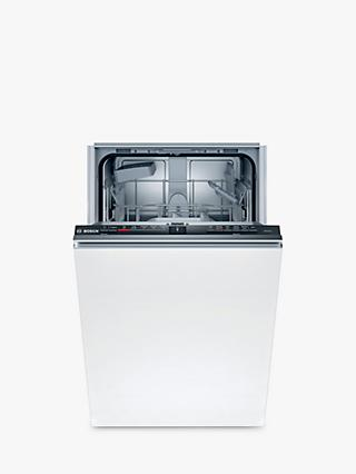 Bosch Serie 2 SPV2HKX39G Fully Integrated Slimline Dishwasher, White