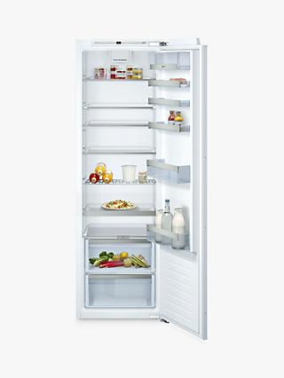 Neff KI1813FE0G Tall Integrated Larder Fridge, A++ Energy Rating, 56cm Wide