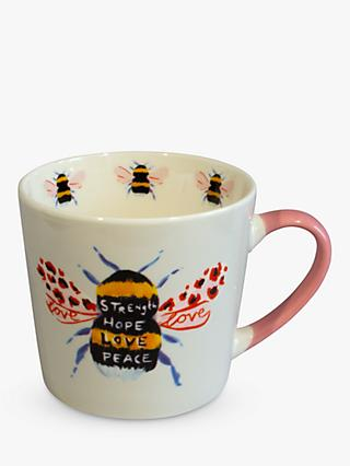Eleanor Bowmer Love Bee Mug, 300ml, Multi