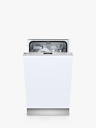 Neff N 50 S875HKX20G Integrated Dishwasher, A+ Energy Rating, White
