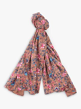 Barbour Laura Ashley Spruce Floral Scarf, Indienne
