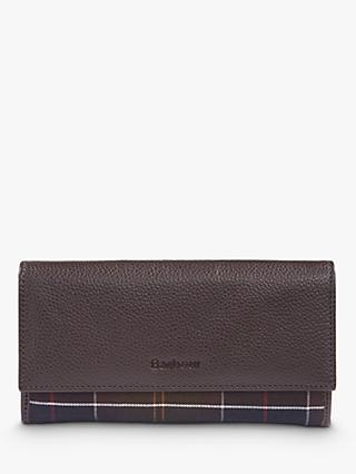 Barbour Leather Wallet, Brown