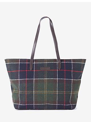 Barbour Witford Tartan Tote Bag, Multi