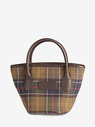 Barbour Small Tartan Tote Bag, Multi