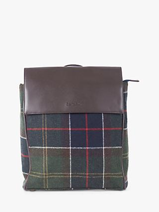 Barbour Witford Tartan Backpack, Multi