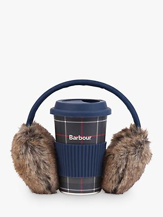 Barbour Ear Muffs & Mug Gift Set