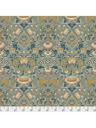 Morris & Co. Dusk Lodden Print Fabric, Blue