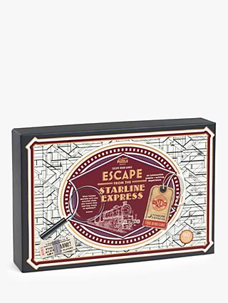 Professor Puzzle Escape from the Starline Express Game