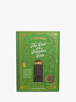 Professor Puzzle Sherlock Holmes Priceless Coin Game