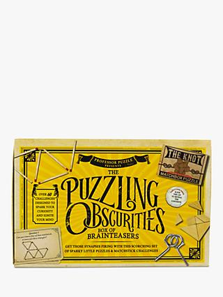 Professor Puzzle Obscurities Mini Puzzle Games