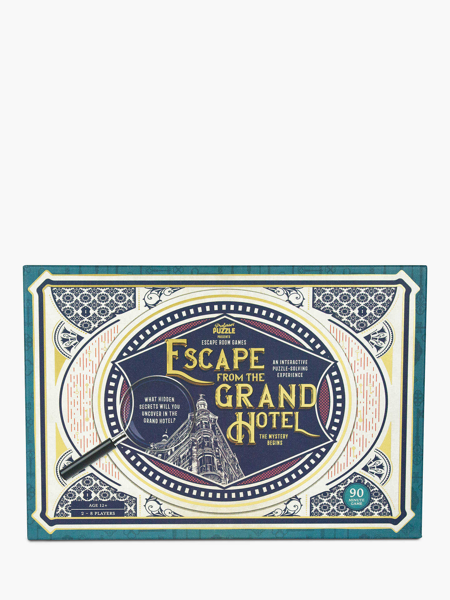 Professor Puzzle Escape From The Grand Hotel Game At John Lewis Partners