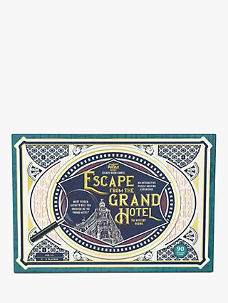 Professor Puzzle Escape from the Grand Hotel Game