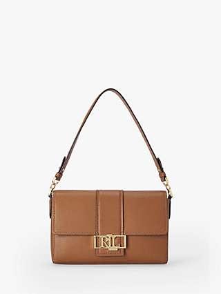 Lauren Ralph Lauren Spencer 25 Leather Shoulder Bag
