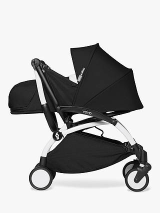 Buy BABYZEN YOYO² Complete Stroller, White/Black Online at johnlewis.com