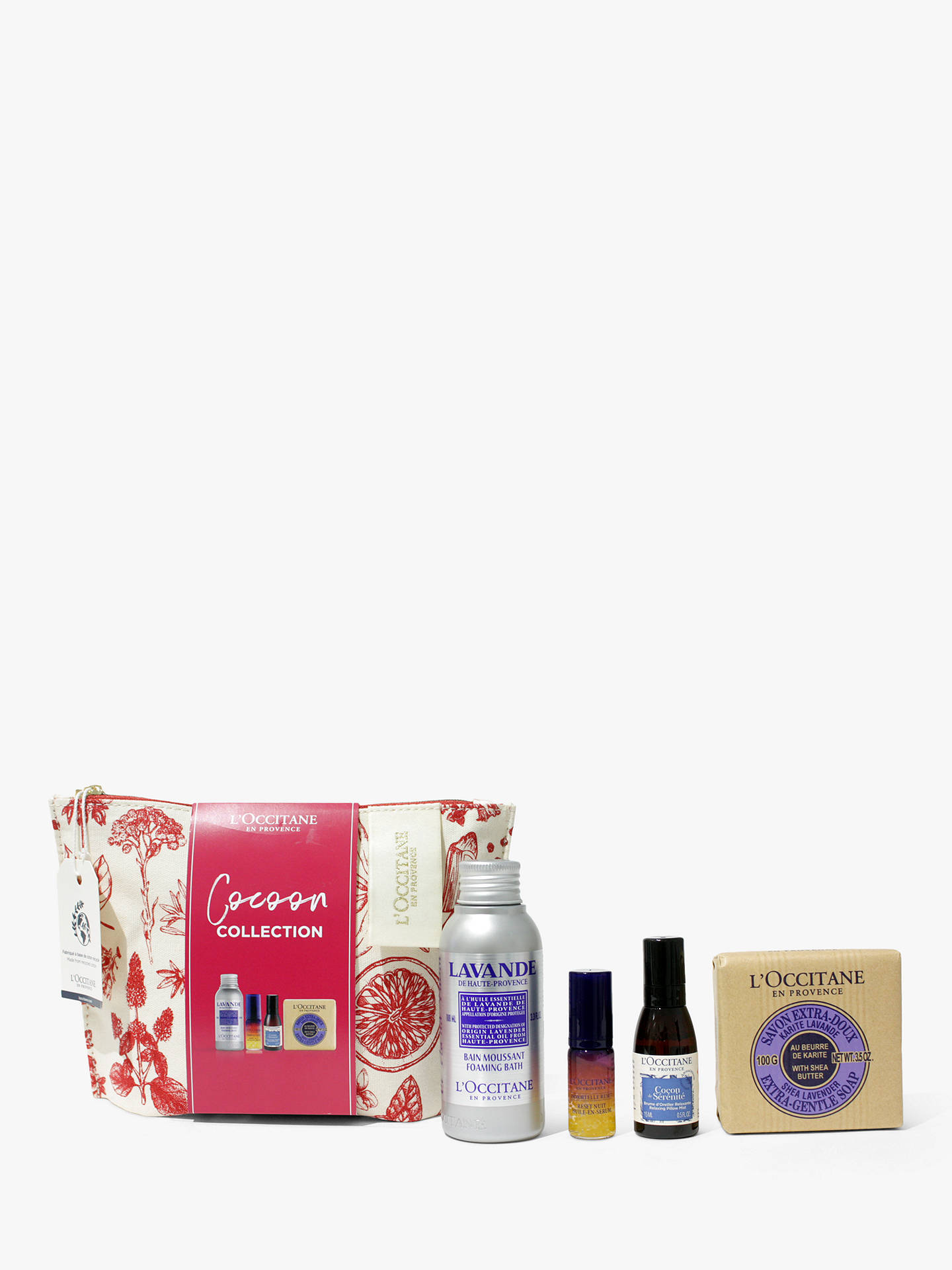Buy L'Occitane Cocoon Collection Bodycare Gift Set Online at johnlewis.com