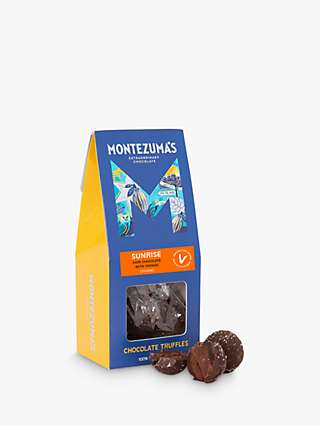 Montezuma's Sunrise Organic Vegan Orange Truffles, 120g