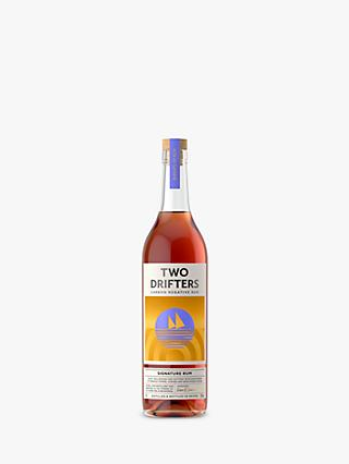 Two Drifters Distillery Drifters Dark Rum, 70cl