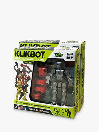 KlikBots Villains Stop Motion Animation Action Figure, Pack of 2