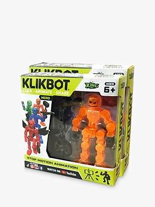 KlikBots Heroes Stop Motion Animation Action Figure, Pack of 2