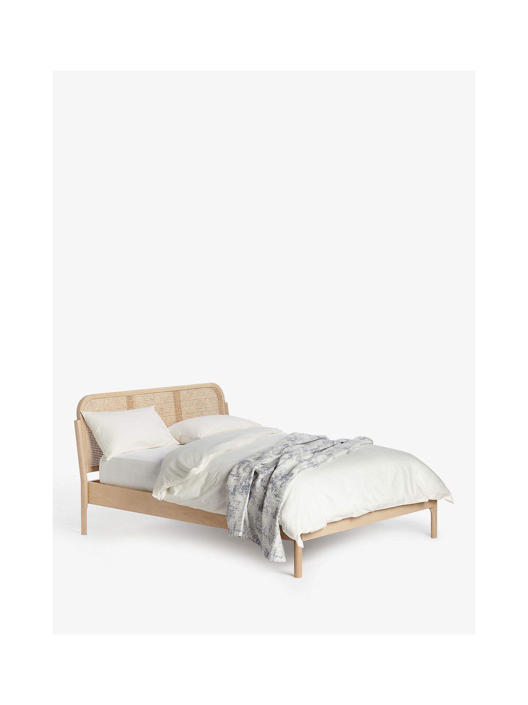 John Lewis Partners Rattan Bed Frame Double At John Lewis Partners