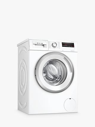 Bosch WAN24109GB Freestanding Washing Machine, 8kg Load, A+++ Energy Rating, 1200rpm Spin, White
