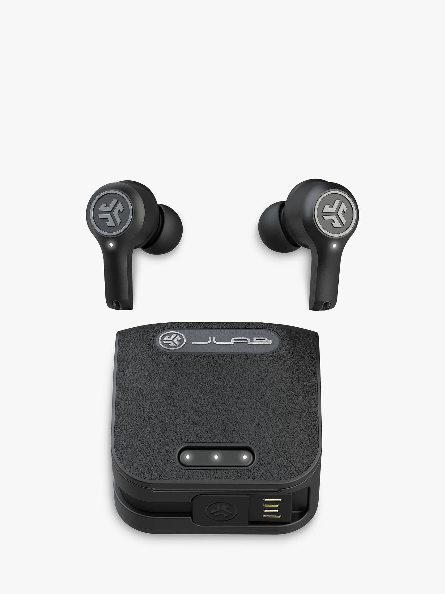 Buy JLab Audio Epic Air ANC Noise Cancelling True Wireless Bluetooth Sweat & Weather-Resistant In-Ear Headphones with Mic/Remote, Black Online at johnlewis.com
