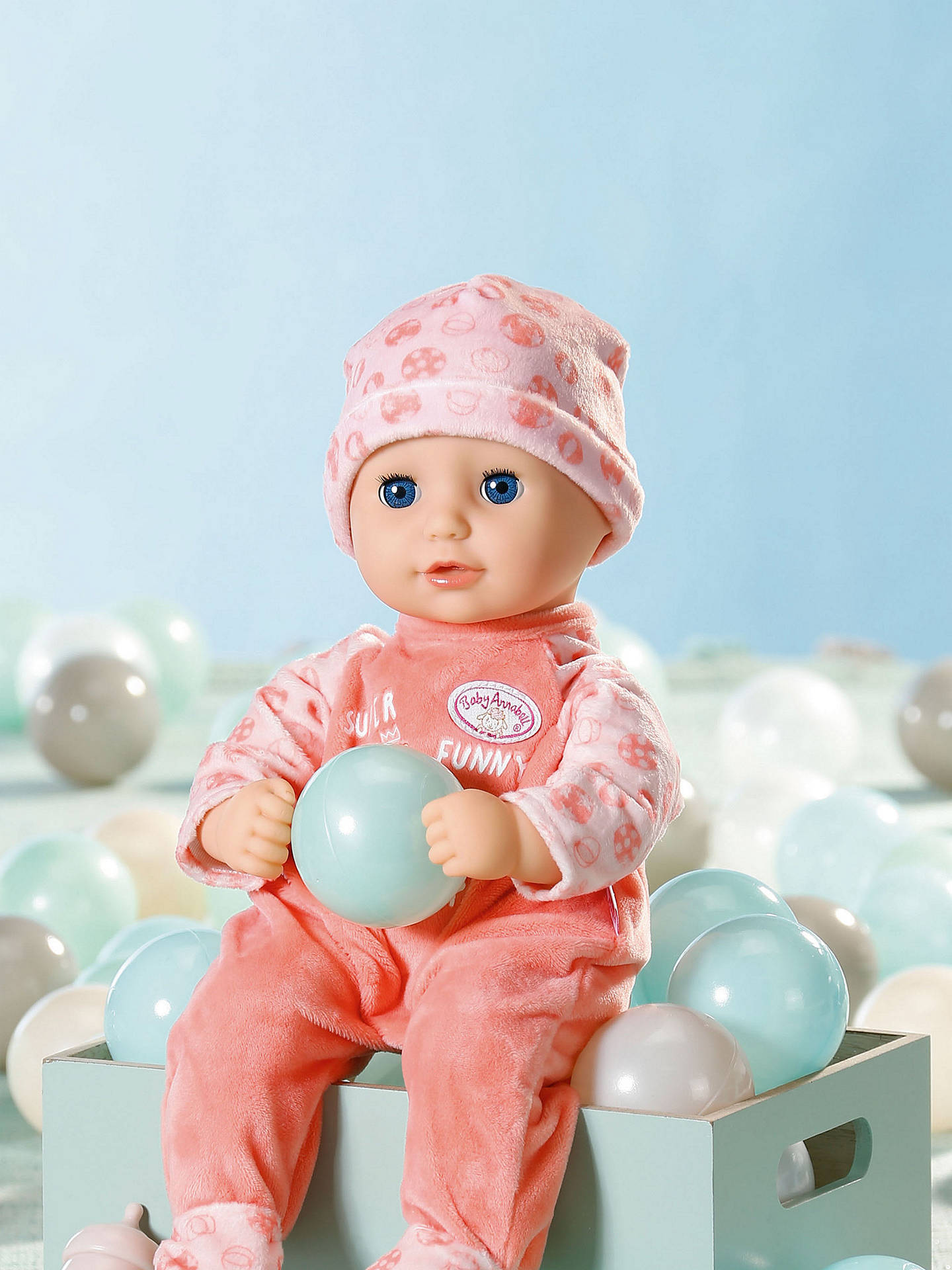 Zapf Baby Annabell Little Annabell Doll at John Lewis ...