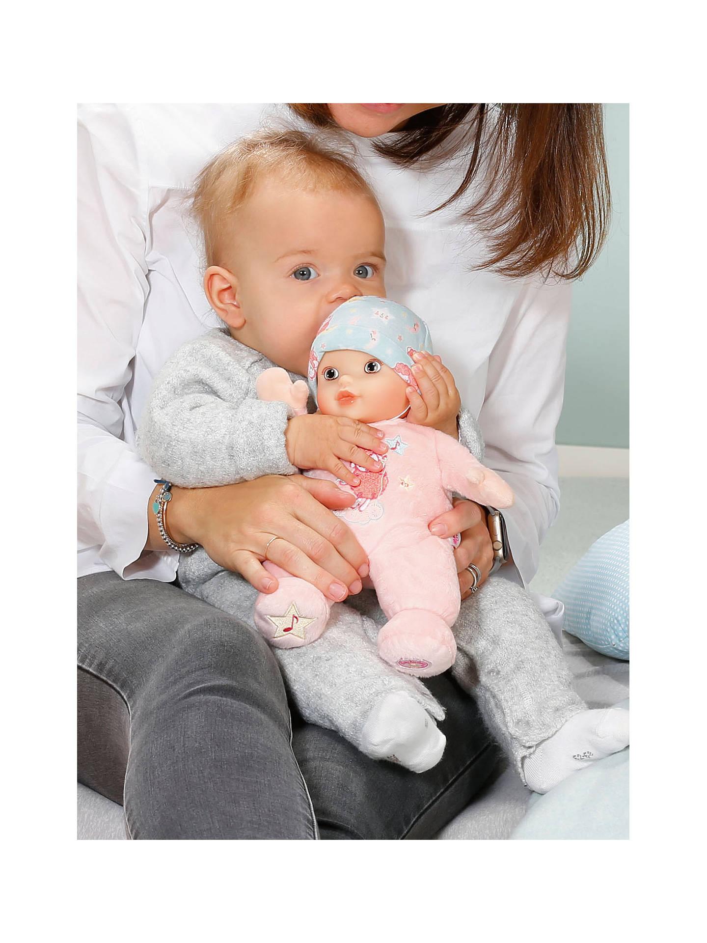 Zapf Baby Annabell Sleep Well Doll at John Lewis & Partners