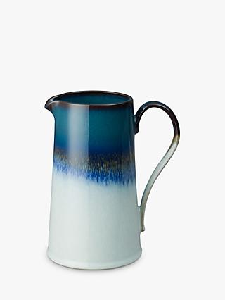 Denby Statements Reactive Glaze Jug, 1.2L, Blue