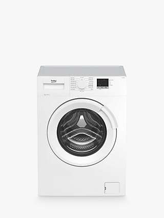 Beko WTL74051W Freestanding Washing Machine, 7kg Load, 1400rpm Spin, White