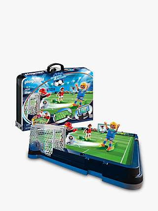 Playmobil Sports & Action 70244 Take-Along Soccer Arena