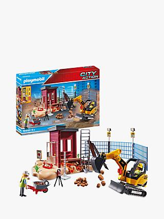 Playmobil City Action 70443 Small Excavator