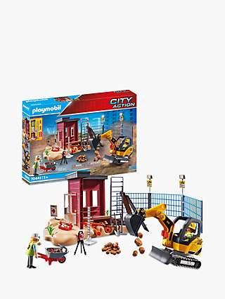 Playmobil City Action 70443 Small Excavator