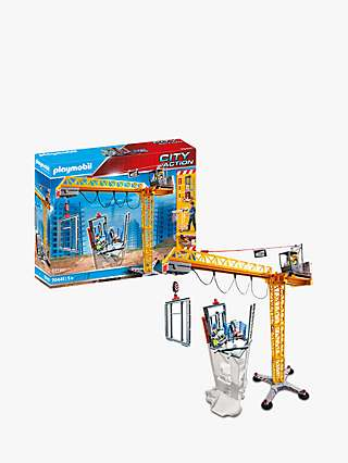 Playmobil City Action 70441 Construction Crane