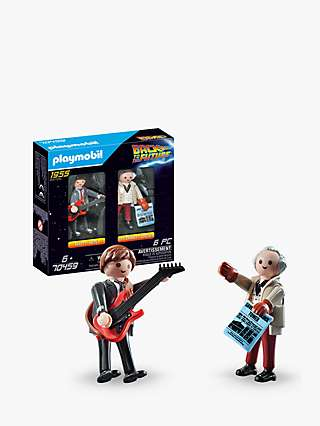 Playmobil Back To The Future 70459 Marty & Doc Figures