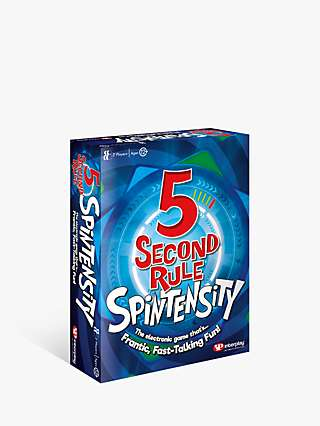 5 Second Rule Spintensity Board Game